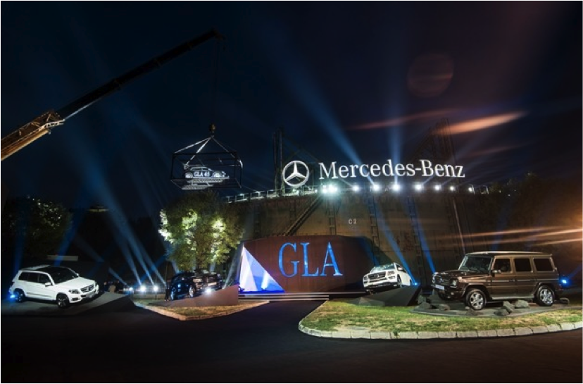 Mercedes-Benz GLA Launch Event 2014