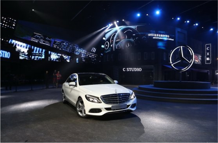 Mercedes-Benz 2014 C-Class Launch Event