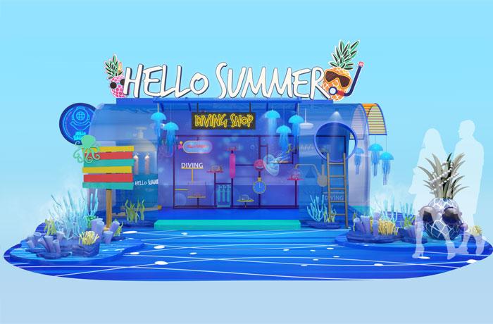 """Galleria """"Hello Summer"""" Jazz Season"""