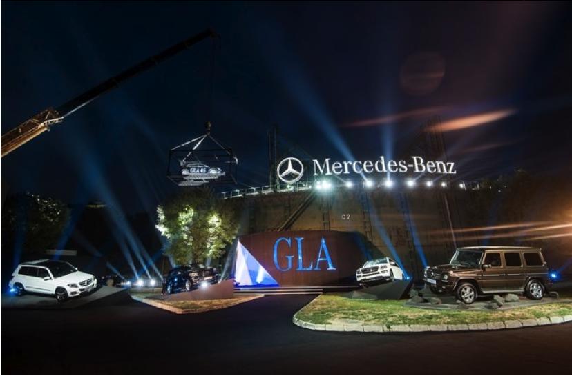 梅赛德斯奔驰GLA 2014发布会